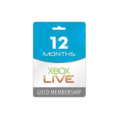 Xbox Live 12 month GOLD Worldwide Subscription