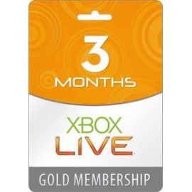 Xbox 360 Live 3 month GOLD Worldwide Subscription