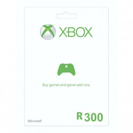 R300 Xbox Live Gift Card