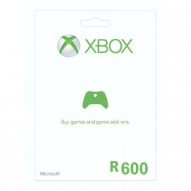 R600 Xbox Live Gift Card