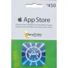 iTunes R450 SA Store Voucher
