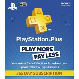 PSN Plus 12 Month Membership