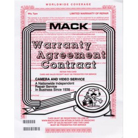 Mack 3 Year Extended Console Warranty Under $1000 - Type 1090