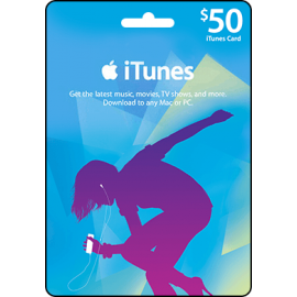 iTunes $50 US Store Voucher