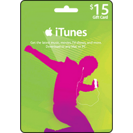 iTunes $15 US Store Voucher