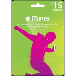 iTunes $15 US Store Voucher