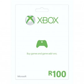 R100 Xbox Live Gift Card