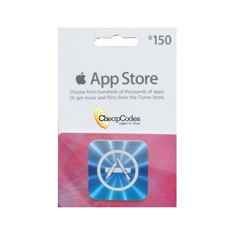 iTunes R150 SA Store Voucher